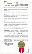 National Window Film Day Proclamation in Fort Myers, Florida