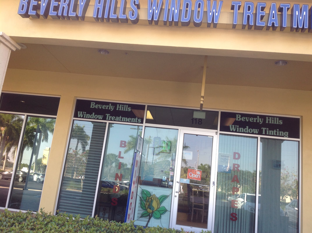 Beverly Hills Window Tinting & Treatments storefront in Naples, FL