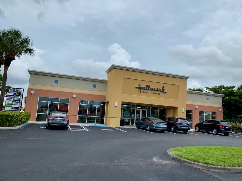 New window films at Hallmark Gold Crown. Ft Myers