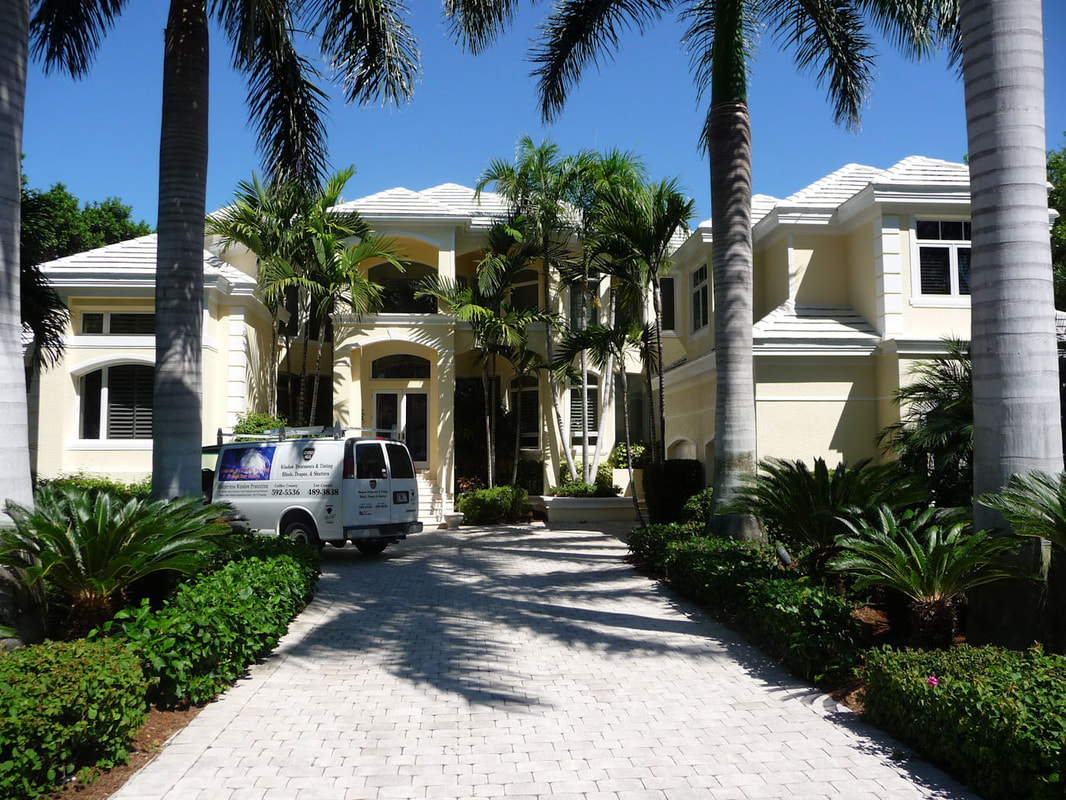 Home window tinting in Naples & Fort Myers, FL