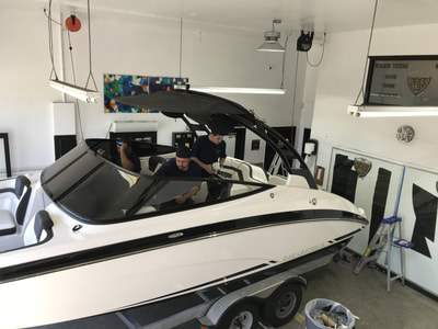 Boat window tinting in Fort Myers, FL